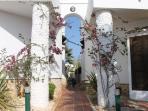 Entrance to Casa Kirbs