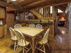 Dining area of Beaver Fever
