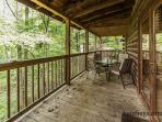 Dining table on back porch