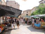 Market day in Santanyi