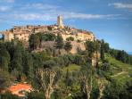 The medieval village of St Paul de Vence - 10 mins walk from the villa