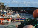 Mevagissey quintessential fishing village and harbour, restaurants, small shops and tea rooms