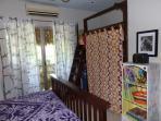 Front bedroom twin loft bed