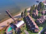 Aerial View of Lakeland Beach, Mountain & Ski Resort