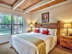 Masterbedroom with California King Bed.