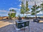 Beach Barbeque and Fire Pit Area