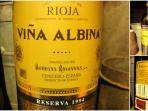 Rerserva de la Bodega Viña Albina