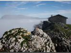 Ermita de San adrian en la cumpre del parque natural de Urbasa Andia