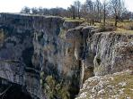 Balcon de Pilatos en el parque natural de Urbasa Andia en la comunidad de Navarra