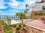 Private Gardens, Pool and views of Cabbage Tree Bay