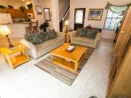 Main floor - Open concept - Villa/House is 2074 sq ft.