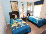 The Twin Bedroom (Minions Theme)