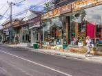 Shops close from villa LA