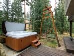 White Wolf Hot Tub Breckenridge Lodging Vacation Rentals