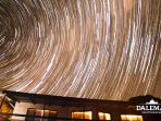 Star trails at the house.