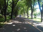 Boulevardul Aviatoriilor 10 min walk from the apartament