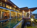 Private spacious swimming pool