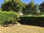 South facing garden - Beautiful designed