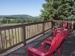 Deck with View of Wisp Resort