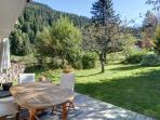 Enjoy beautiful views and al-fresco dining on a South facing sunny terrace