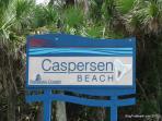 Caspersen Beach - South of Sharky's restaurant