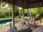 Villa Belong Dua - View from garden bale