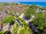 Villa Belong Dua - Aerial - Proximity to the sea