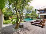Maharaj - Decking and pool
