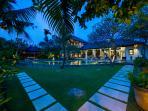 Maharaj - Villa at dusk