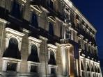 Palazzo Sforza Cesarini di notte