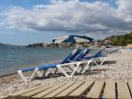 One of the beaches of Altea (playa de L'olla), 5 minutes by car