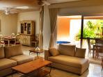 Riviera Maya Haciendas, Casa Arena - Dining Room, Living Room, Terrace & Jacuzzi