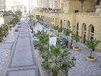 JBR runs parallel to 'The Beach' and 'The Walk'