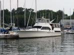 The Watercraft Inn, a 55 ft Ocean Motor Yacht.