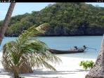 explore beautiful beaches and islands