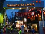 shimokitazawa 10 mins. walk