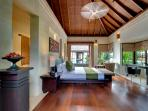 Villa Mandalay - Left side sleeping pavilion, first guest bedroom