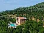 Villa Surrounded By Orange Groves