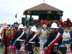 Marines and Bandstand