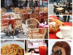 great choice of bars and restaurants in walking distance