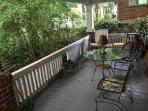 HUGE front porch, this is 1/4 of it, seats at least 8, Party Porch!