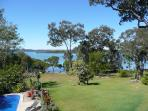 View from the BBQ Deck adjacent to the 12 metre Swimming Pool
