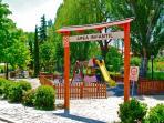 Parque de Sajazarra, zona infantil