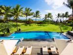 Villa Semarapura - The view from the upstairs living room