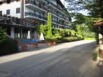 Dettagli complesso Residence Parco dei Pini.