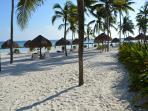 Private Beach Area for Guests of Villa Del Mar