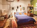 ART FILLED APARTMENT WITH GARDEN AWAITS YOU IN SF!