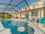 Fabulous pool, deck and lanai