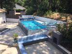 new heated pool 2015