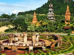 nong nooch gardens and attractions close to villa